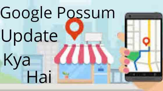 Google Possum Update kya Hai